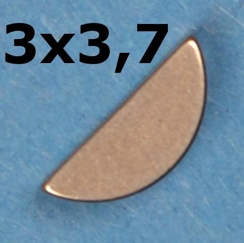 Scheibenfeder Hercules Prima 2,3,4,5, M,GT SACHS 505 Zündung, Polradkeil, Halbmond