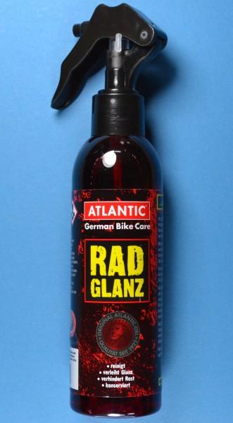 200 ml ATLANTIC Radglanz Lackpflege, Metallpflege, Reinigungsmittel, Sprühflasche