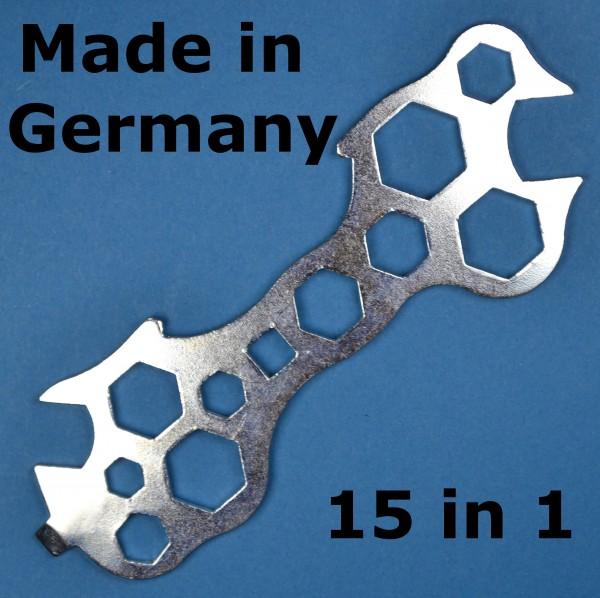 Flachschlüssel Fahrrad Multischlüssel Werkzeug Konusschlüssel Mofa